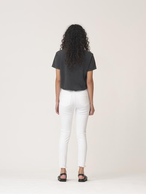 Ivy Copenhagen Alexa ankle jeans, white distressed, 24