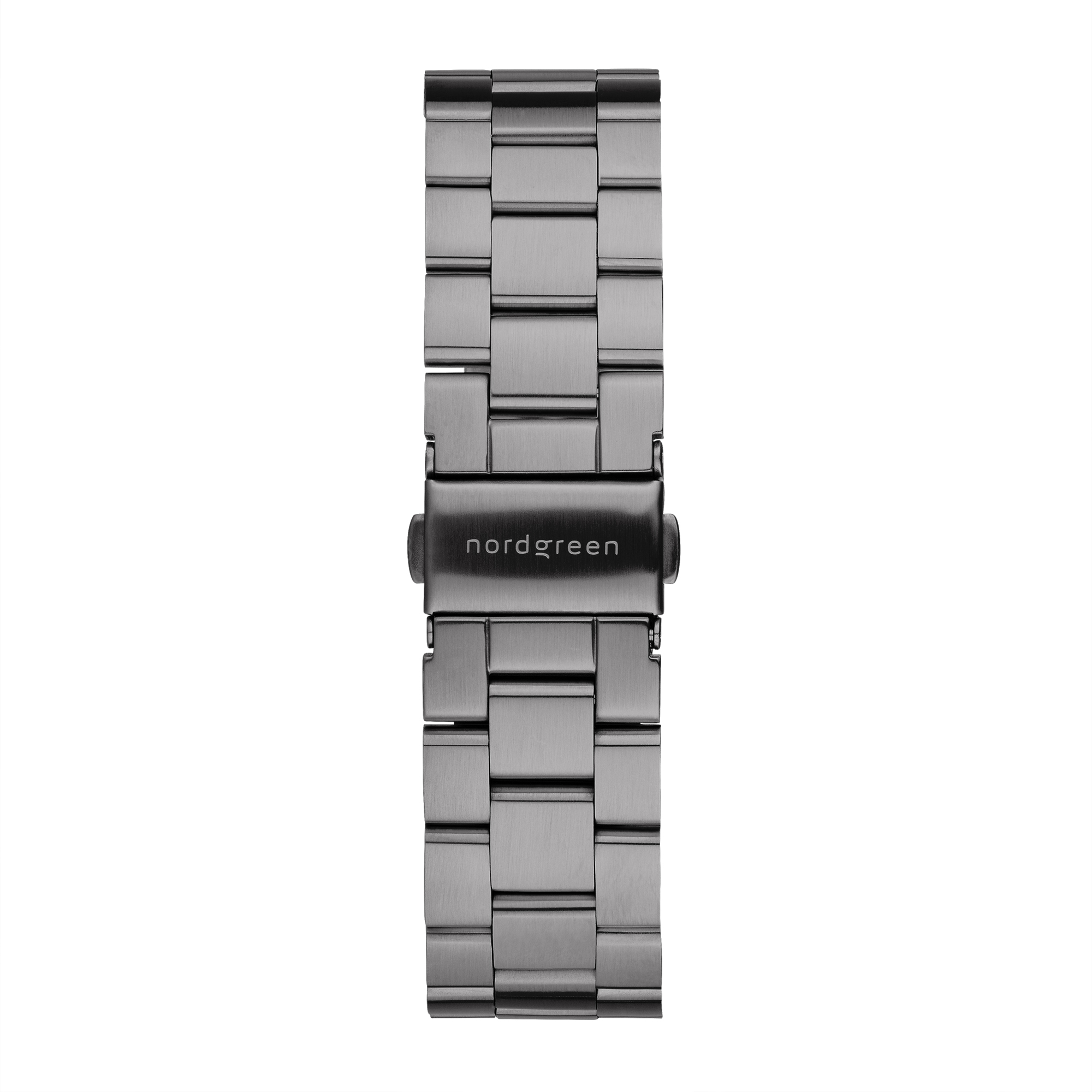 Nordgreen Philosopher ur, gun metal/hvid, 40 mm