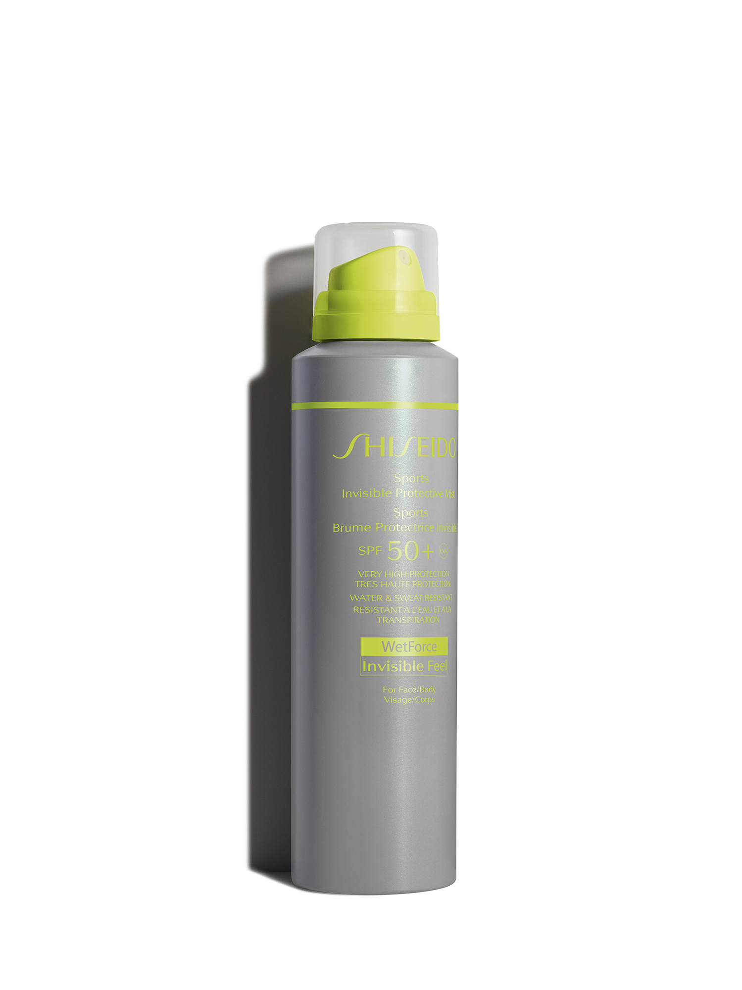 Shiseido Sport Protective Mist SPF50+, 150 ml