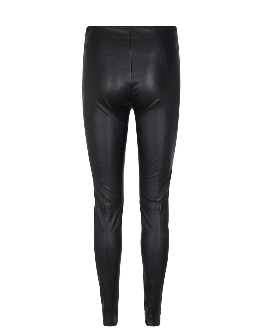 Mos Mosh Lucille Strech Leather Leggings, black, x-large
