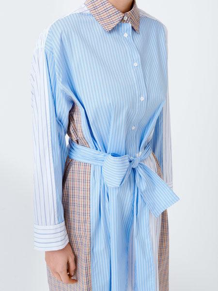 Munthe Rye skjortekjole, ivory, 34