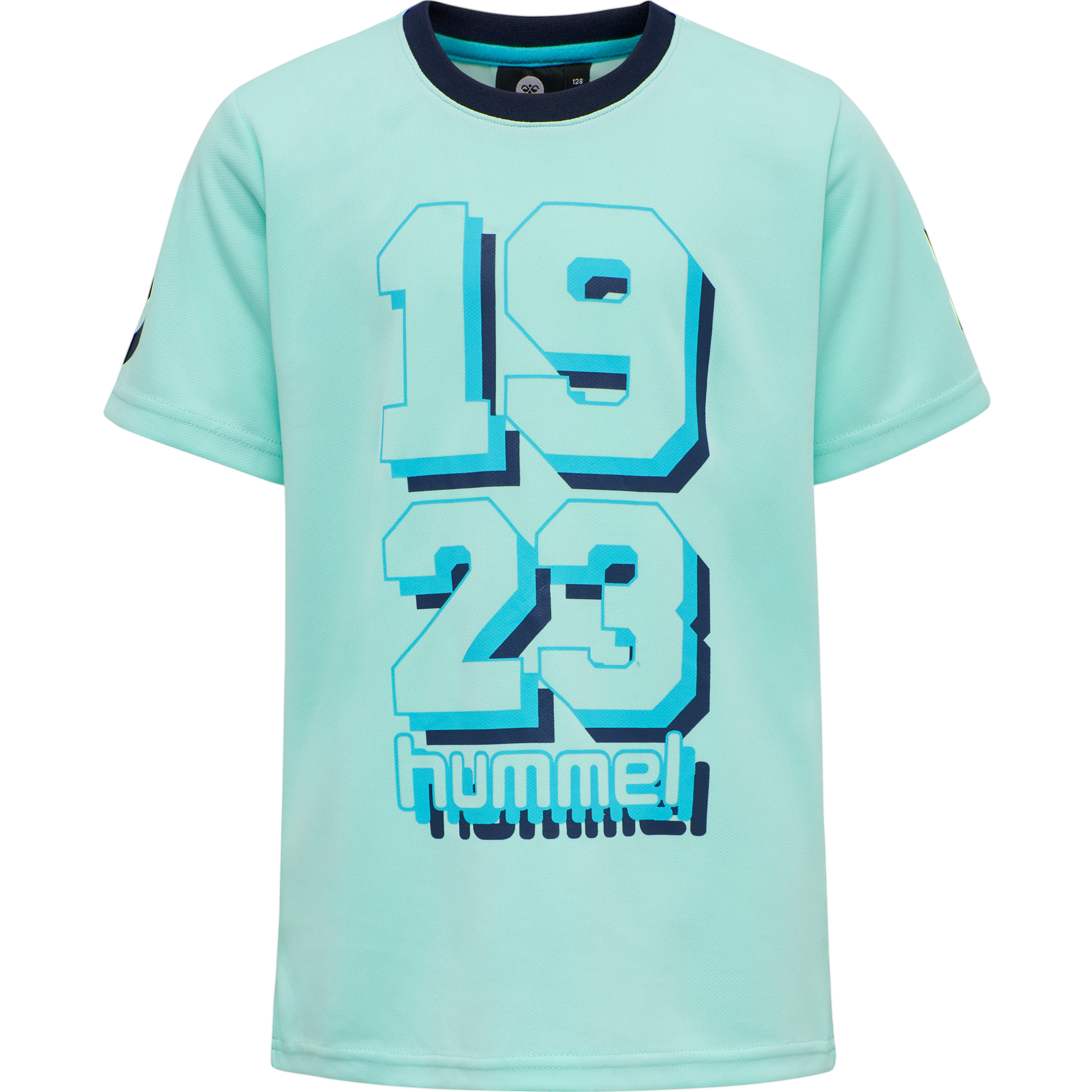 Hummel Shadow t-shirt, blue tint, 152