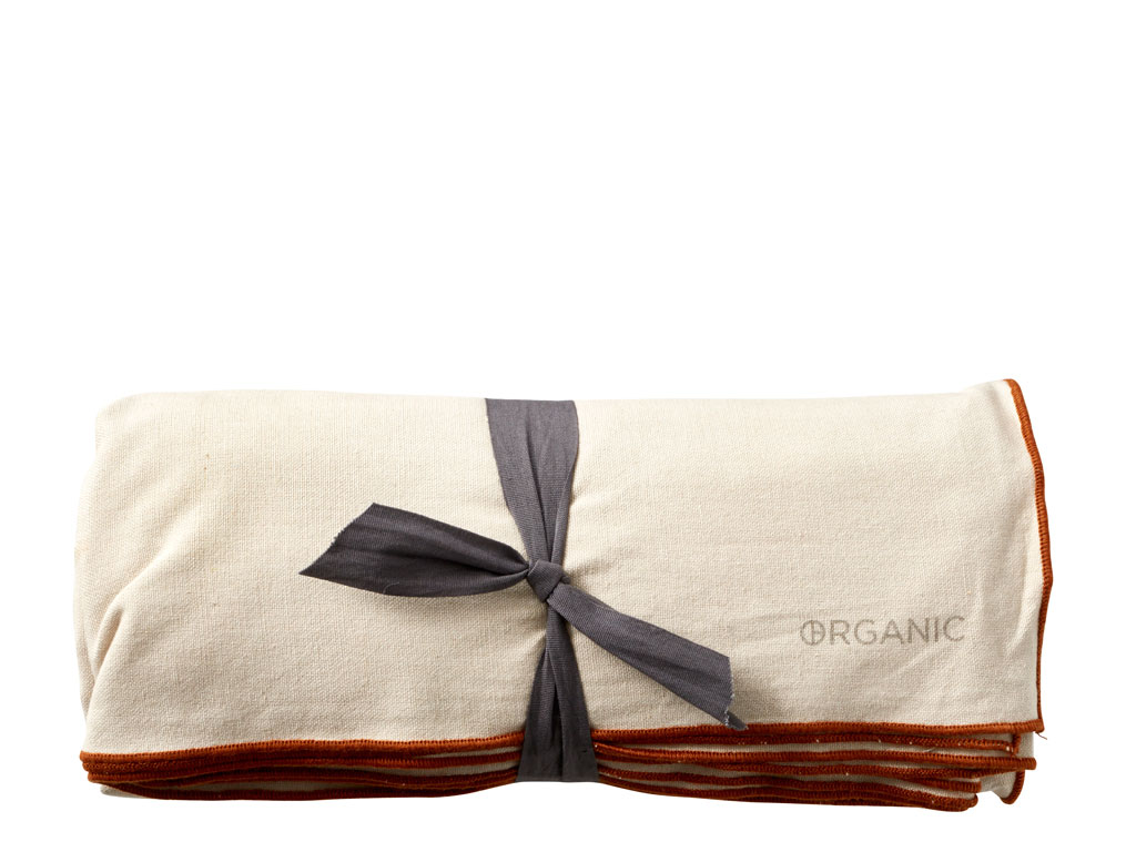 Södahl Organic by Bitz bomuldsdug, 140x350 cm, cream