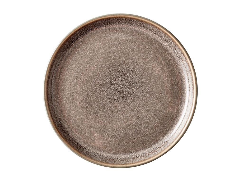 Bitz Gastro tallerken, Ø17 cm, grå/grå