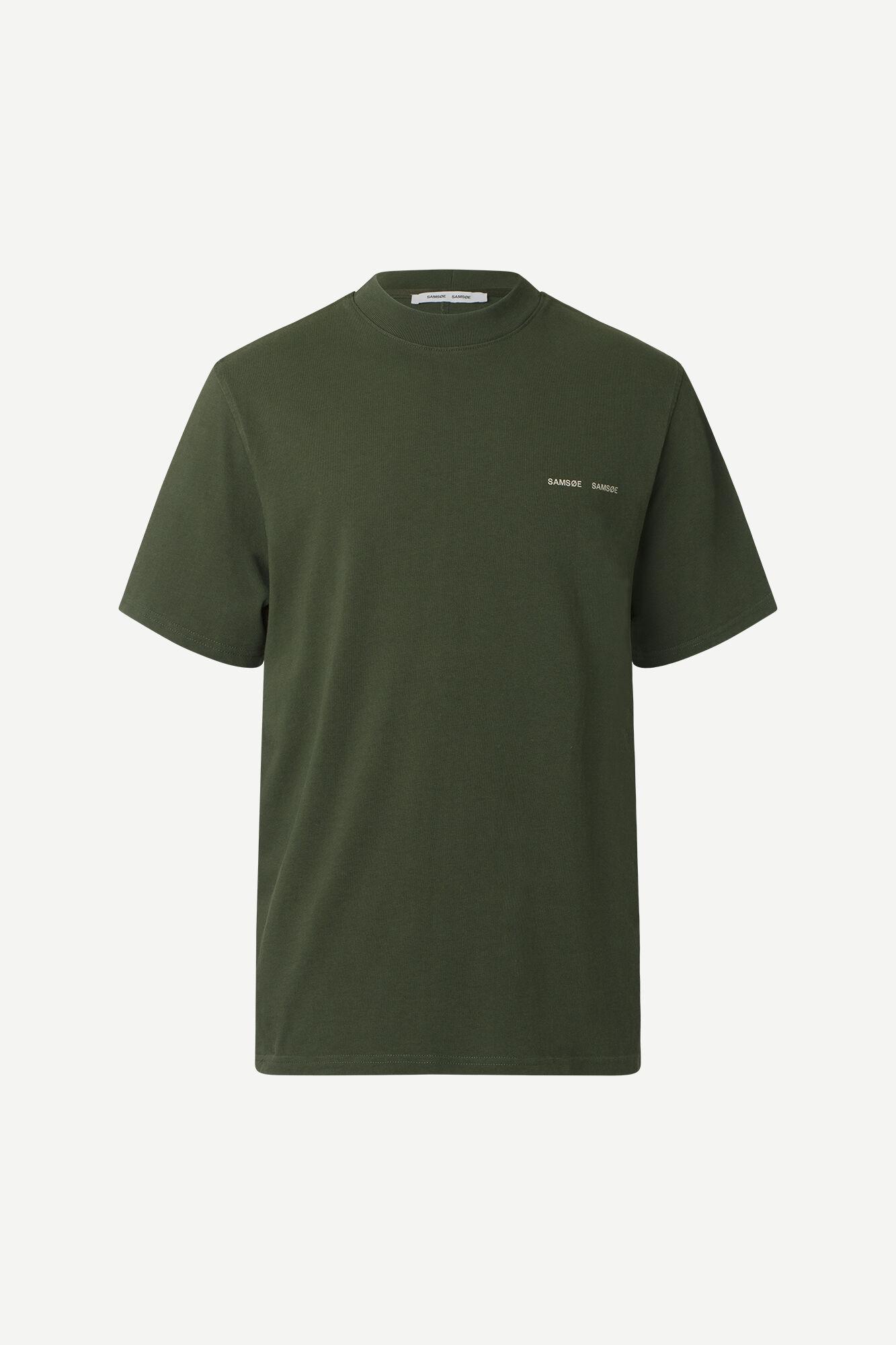 Samsøe & Samsøe Norsbro S/S t-shirt, kambu green, small