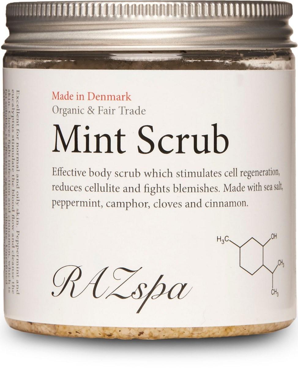 RAZspa Mint Scrub, 200 g