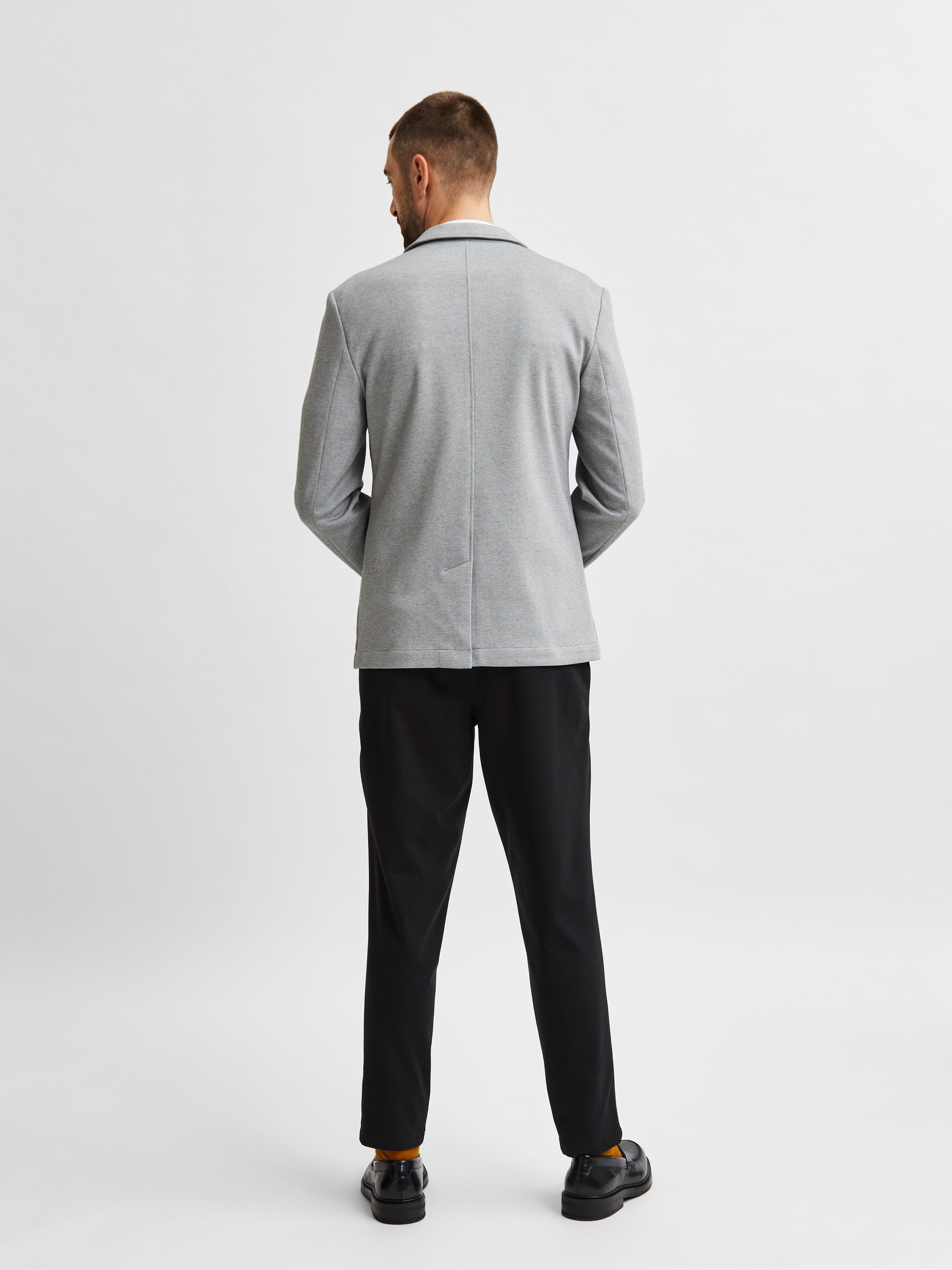 Selected Homme Raff Slim blazer, light grey melange, 54