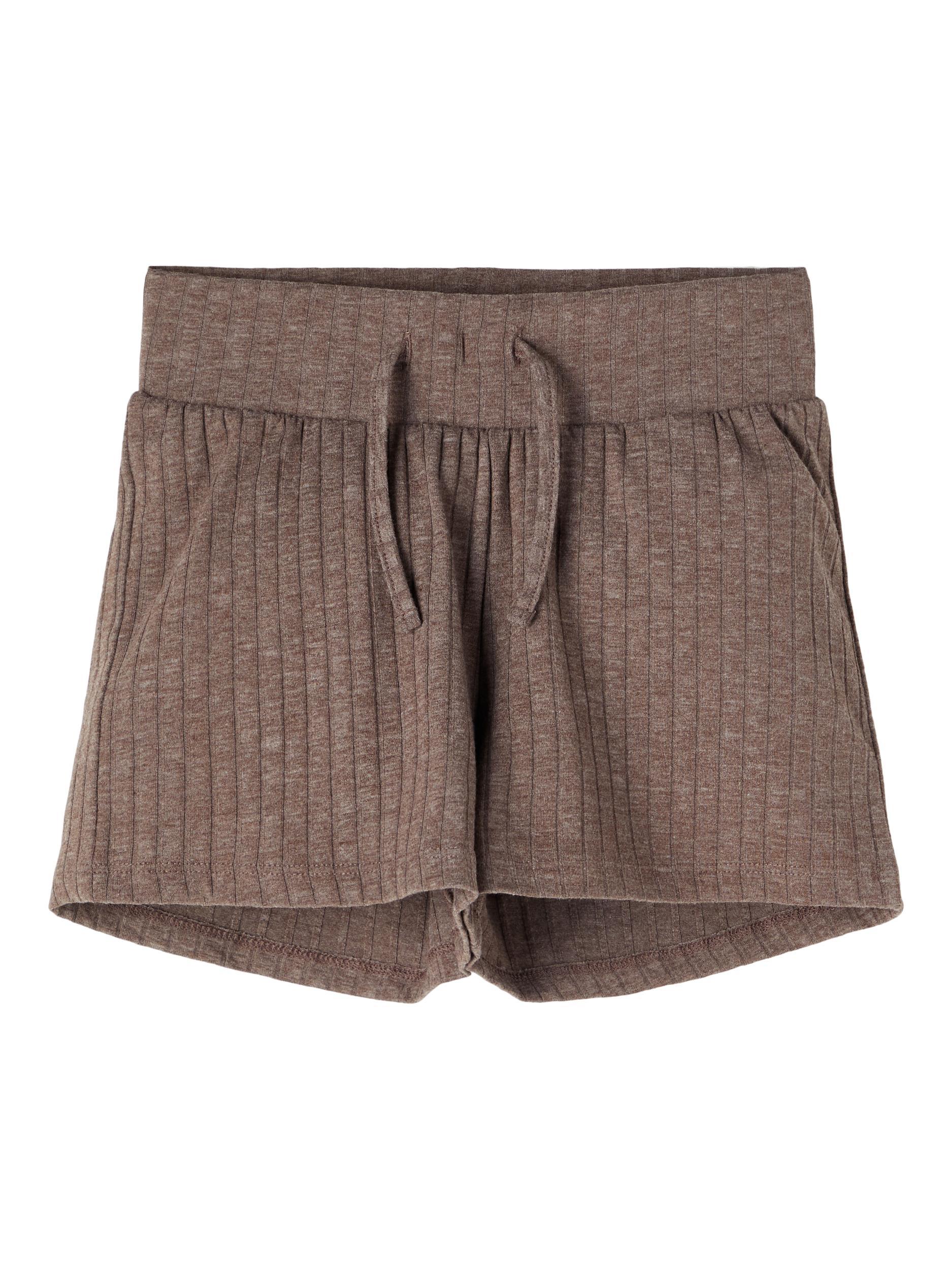 Name It Nola shorts, deep taupe, 116
