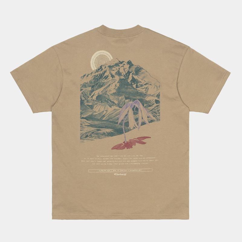 Carhartt S/S Mountain t-shirt, tanami, small