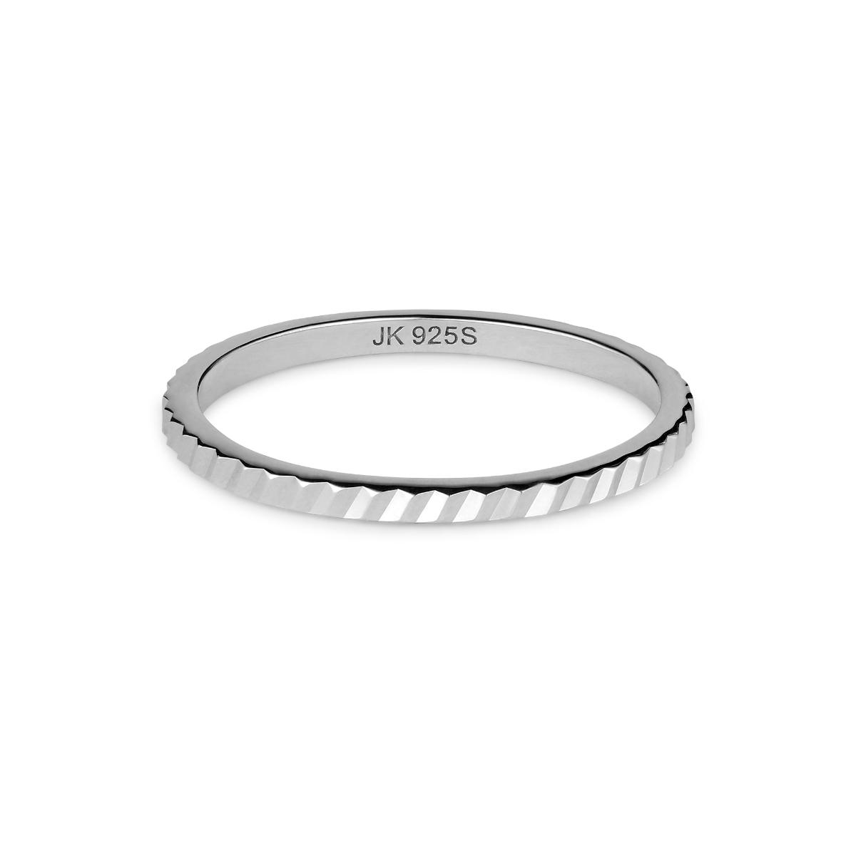 Jane Kønig small Reflection ring, sølv, 56