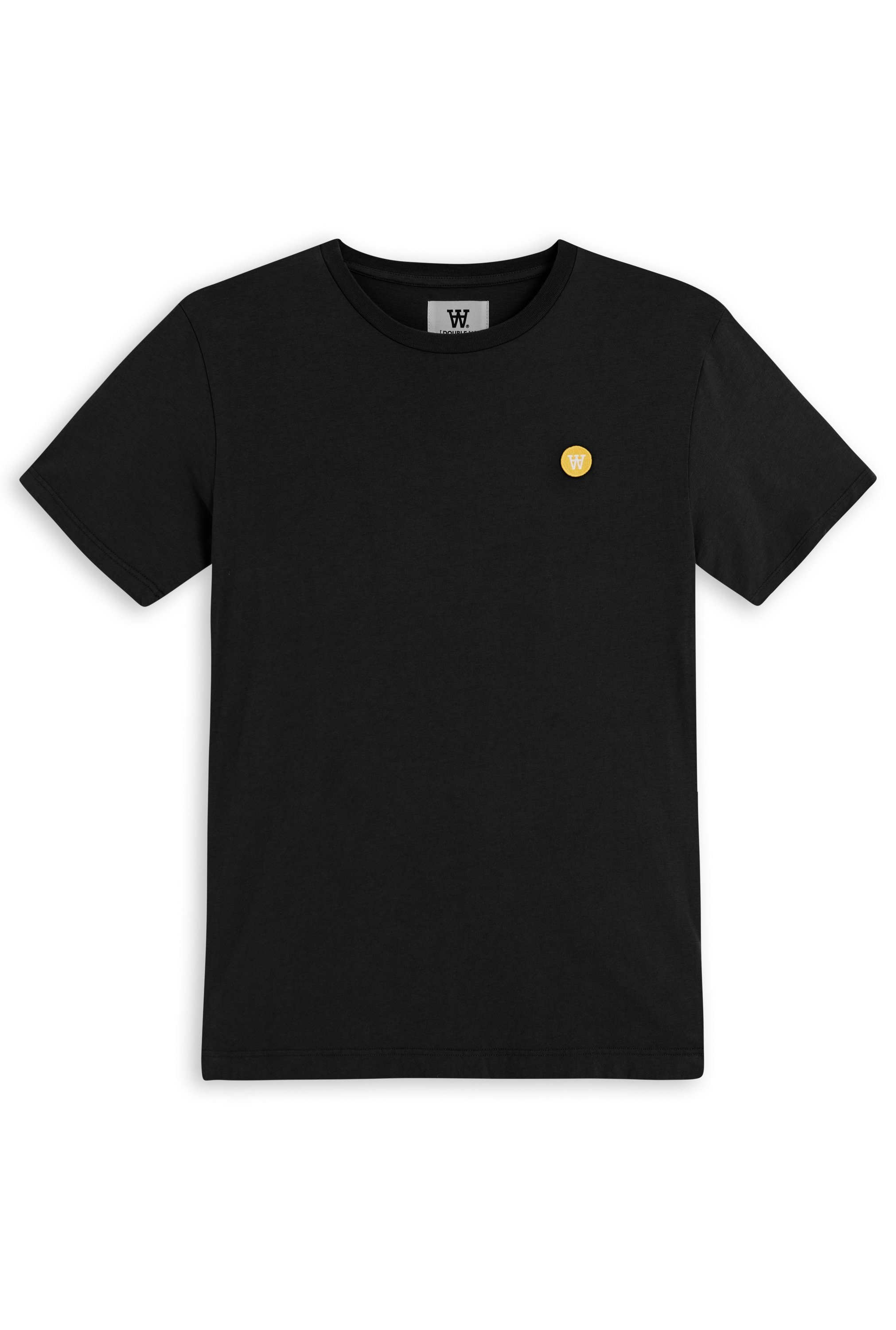 Wood Wood Double A Ace t-shirt, black, small