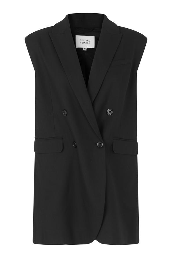 Second Female Milica Vest, Sort, S