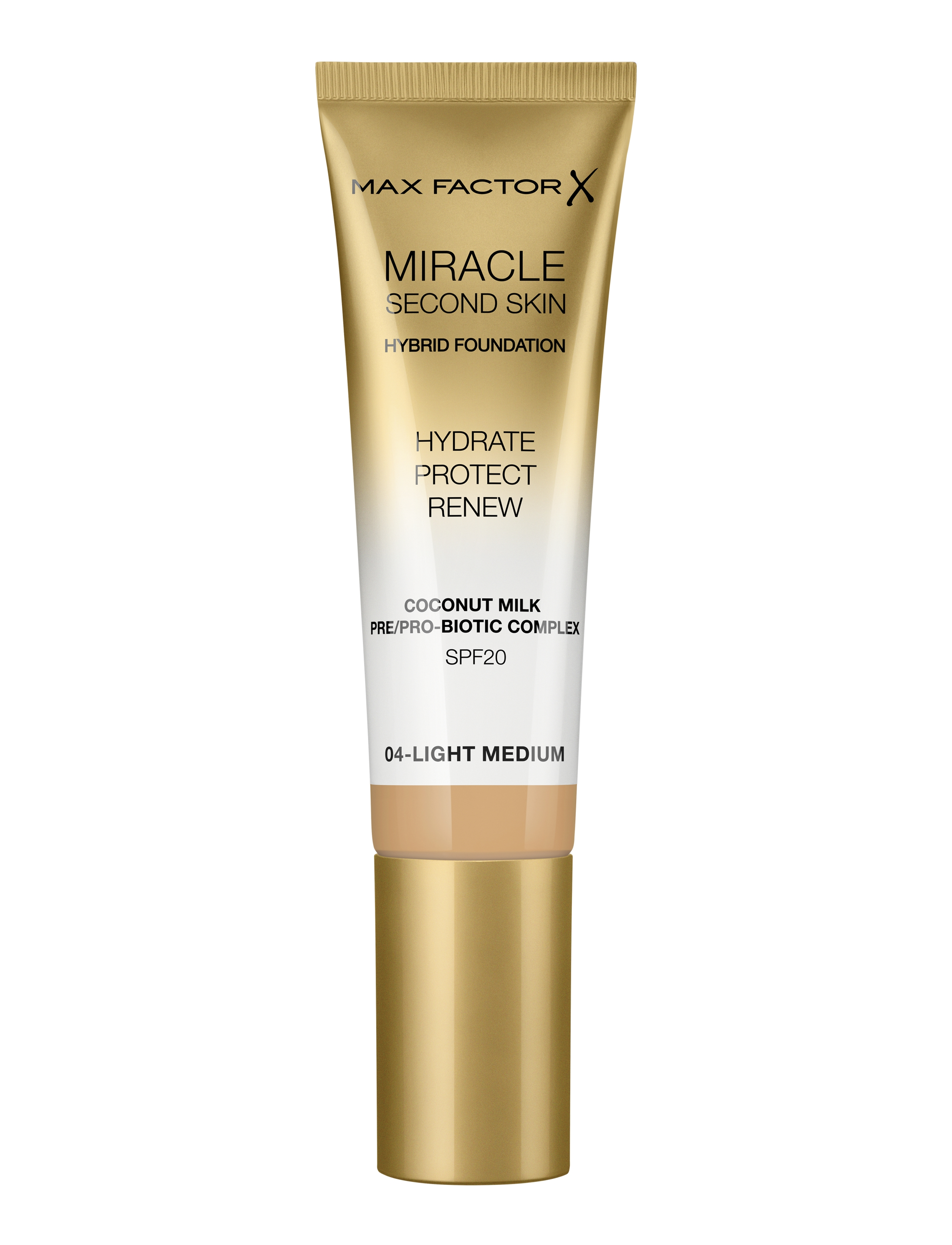 Max Factor Miracle Second Foundation, 04 light medium