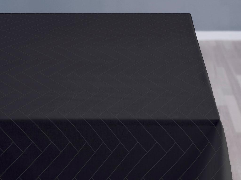 Södahl Tiles damaskdug, 140x320 cm, ash