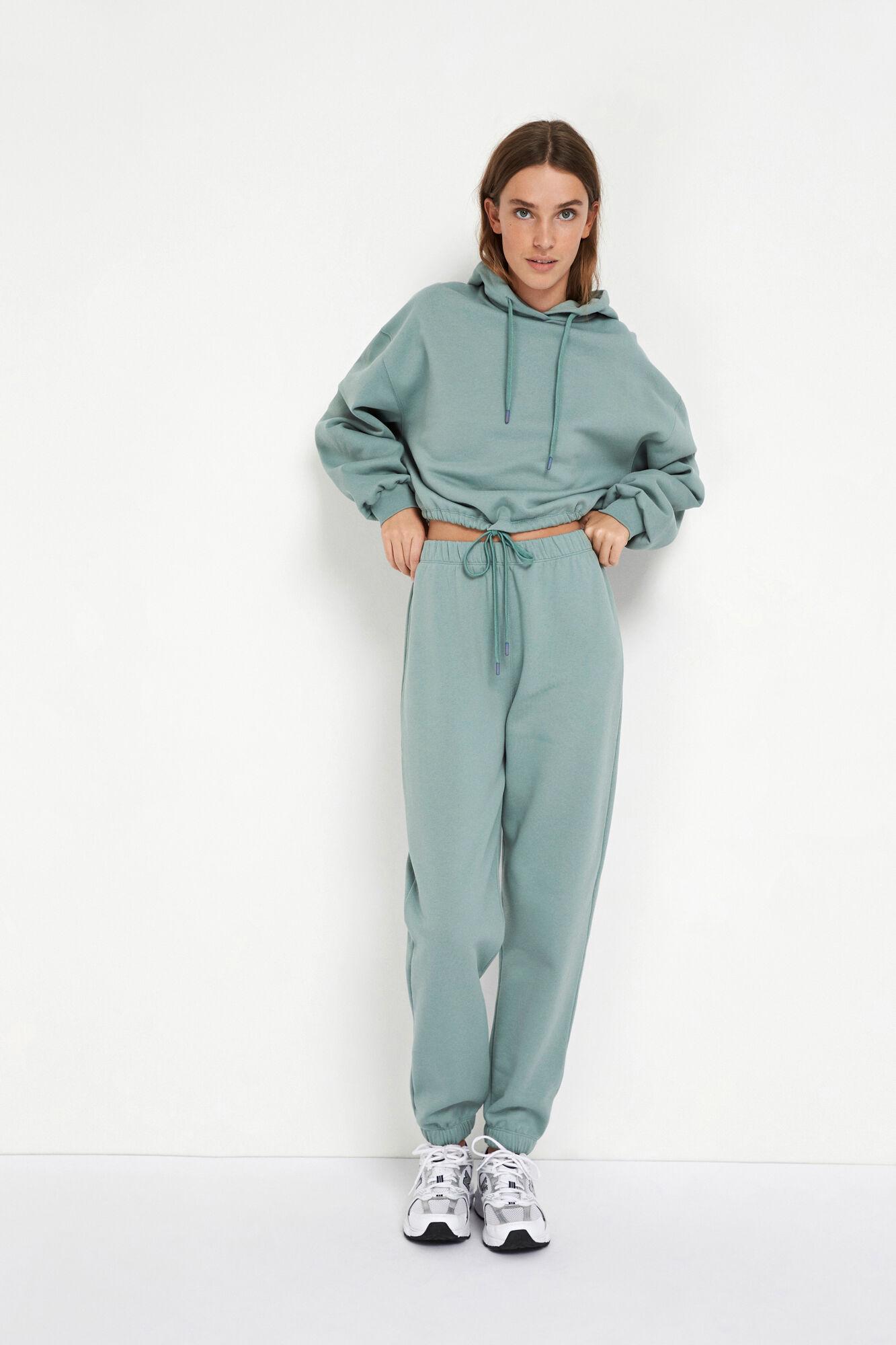 Envii Monroe LS sweatshirt, chinois green, x-small