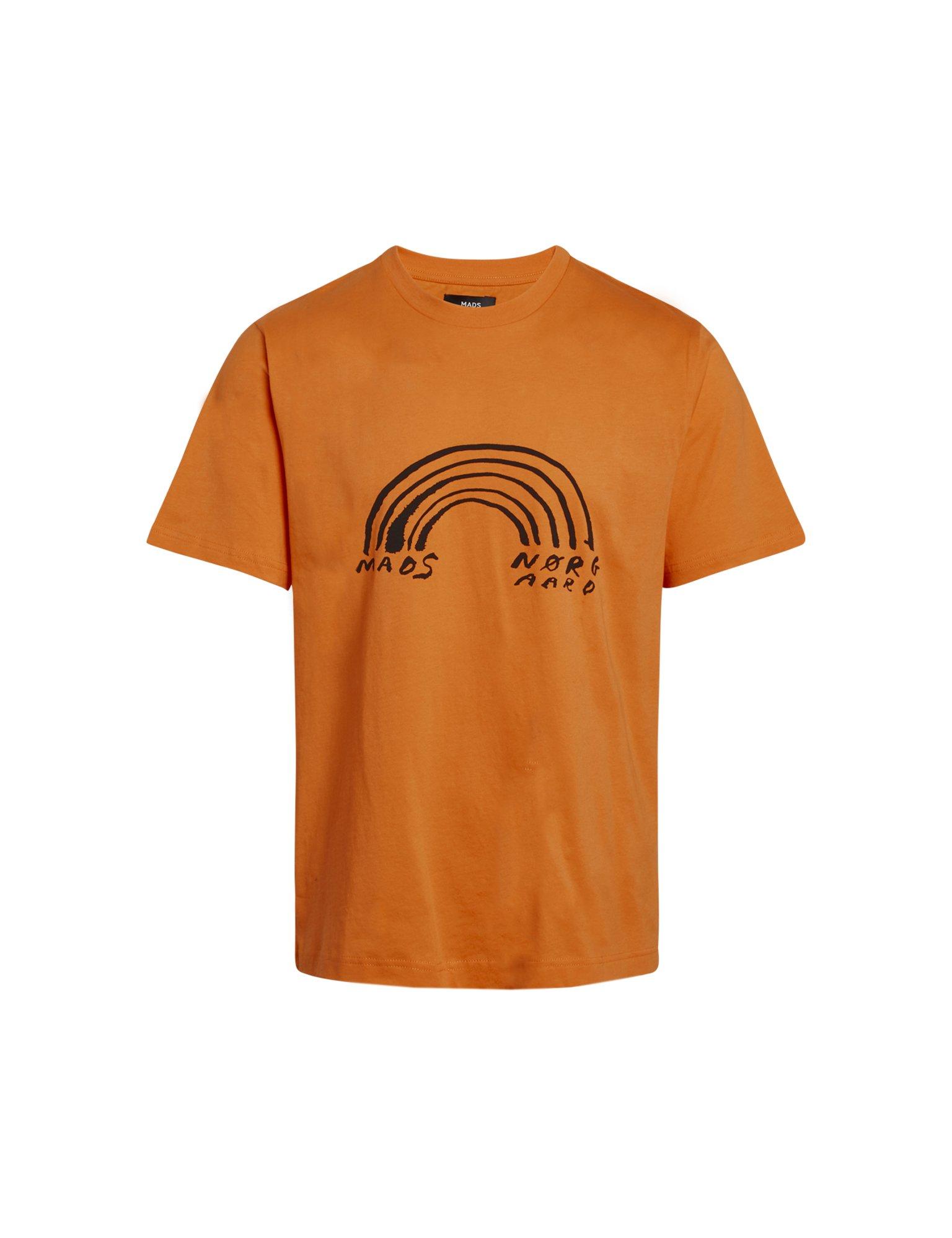 Mads Nørgaard Organic Twin Kozak t-shirt, oriole, small