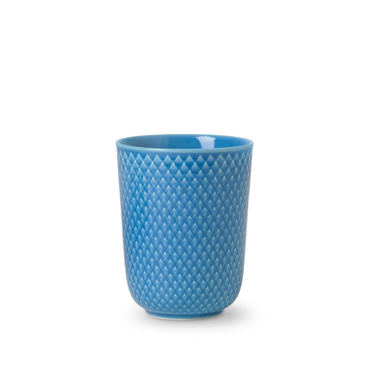 Lyngby Porcelæn Rhombe Color krus, 330 ml, blå