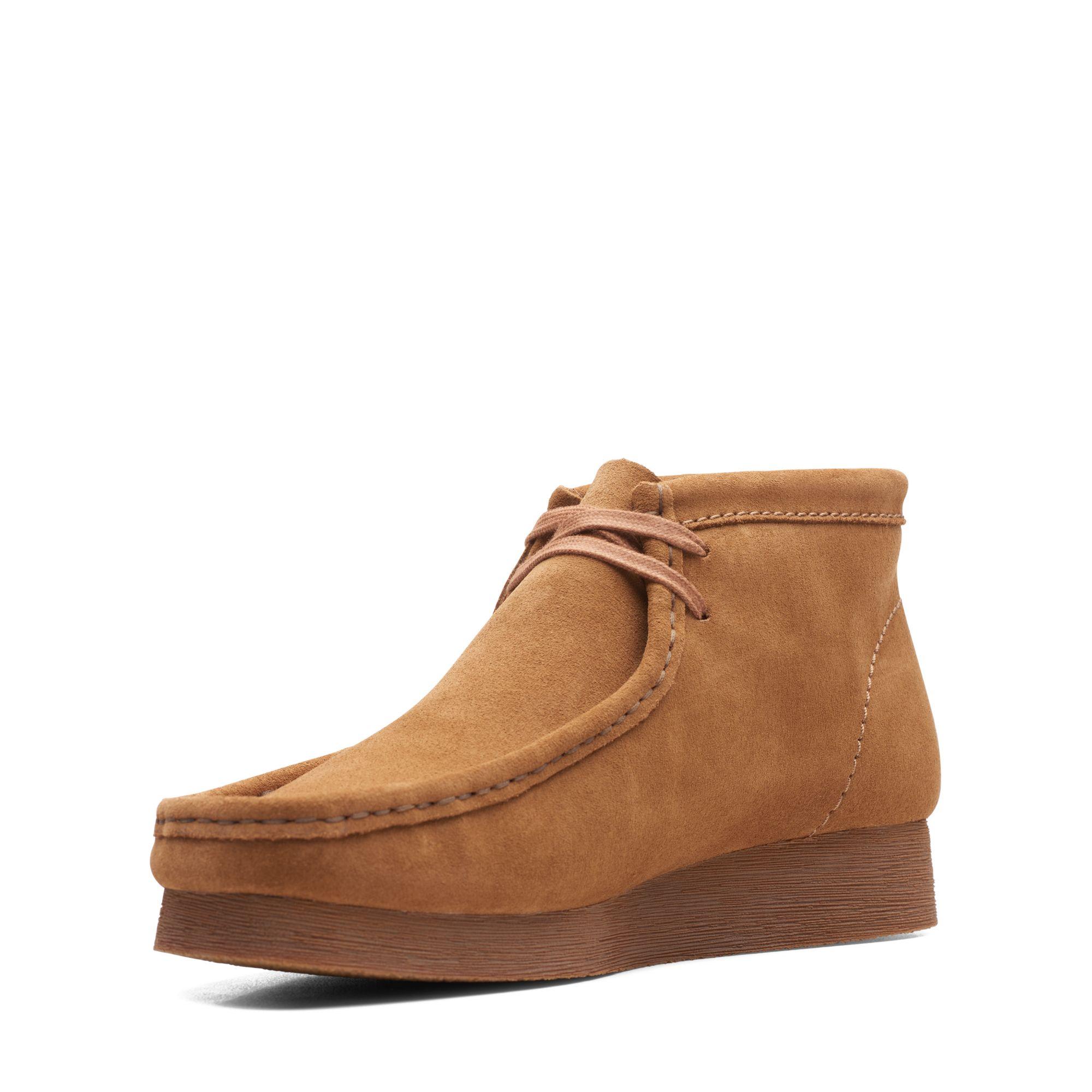 Clarks Wallabee 2 Støvler, Brown Suede, 44