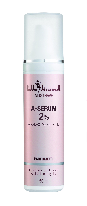 Pudderdåserne A-Serum 2%, 50 ml