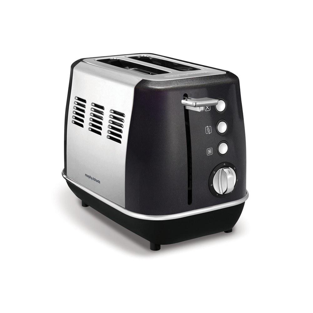 Morphy Richards Evoke toaster, sort, 2 skiver