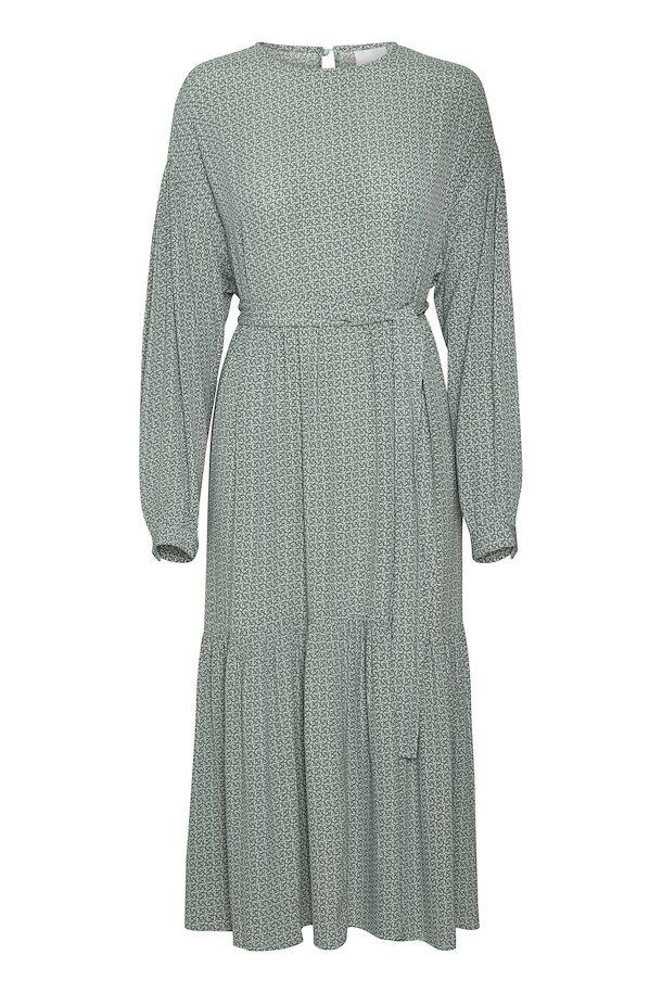 Gestuz langærmet kjole, Green logo, 40