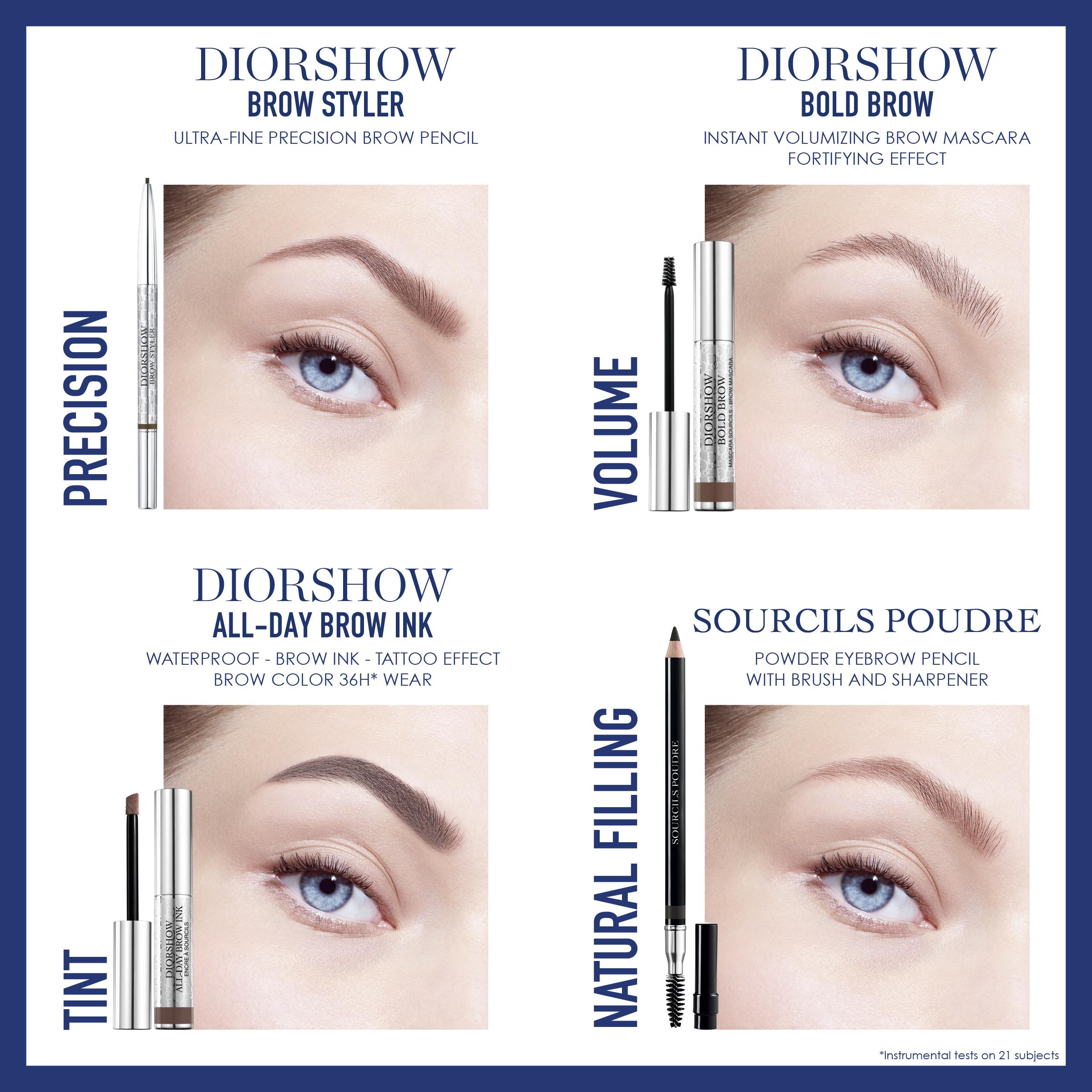 DIOR Diorshow Brow Styler, 002 Universal Dark Brown