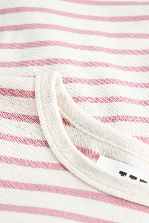 Wood Wood Moa L/S t-shirt, off-white/rose, medium