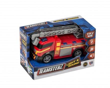 Teamsterz Brandbil med lys og blink