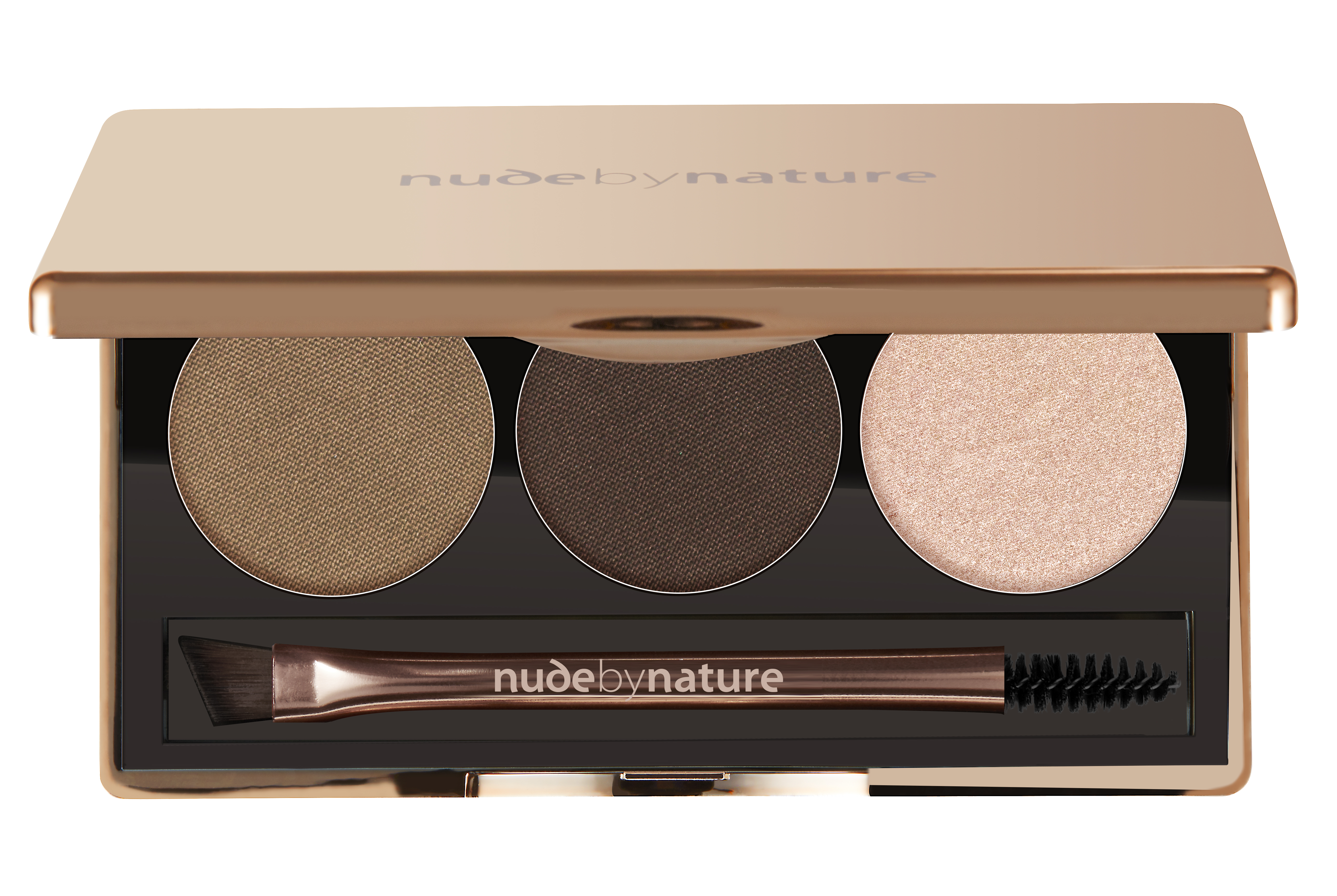 Nude By Nature Definition Brow Palette, 02 Brown