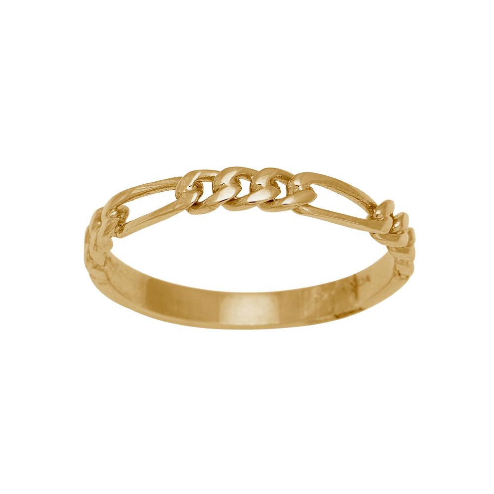 Nordahl Figaro ring, guld, 56