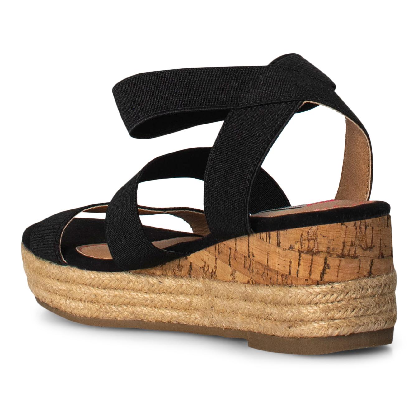 Steve Madden JBandi sandal, black, 33