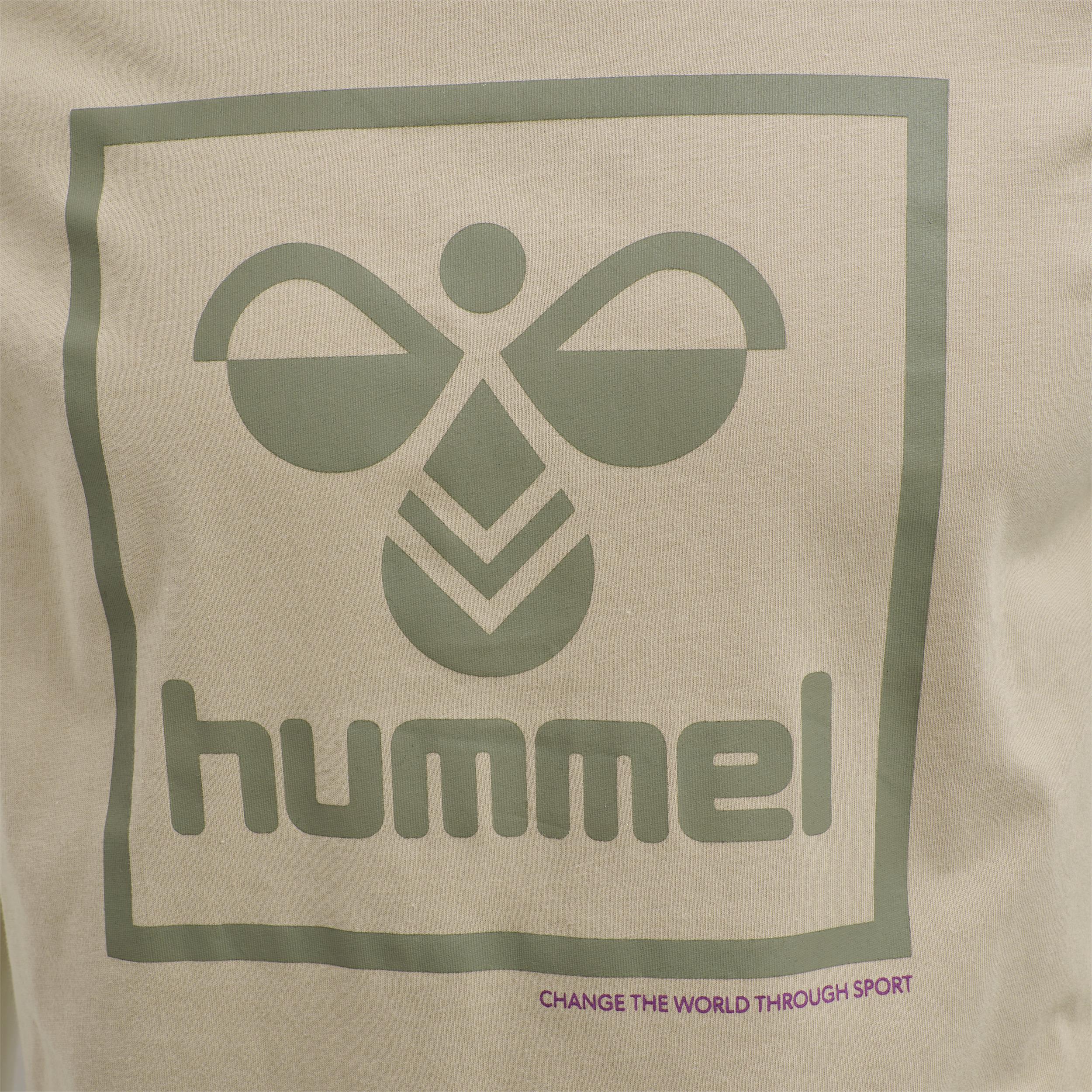 Hummel Isam t-shirt, humus, medium