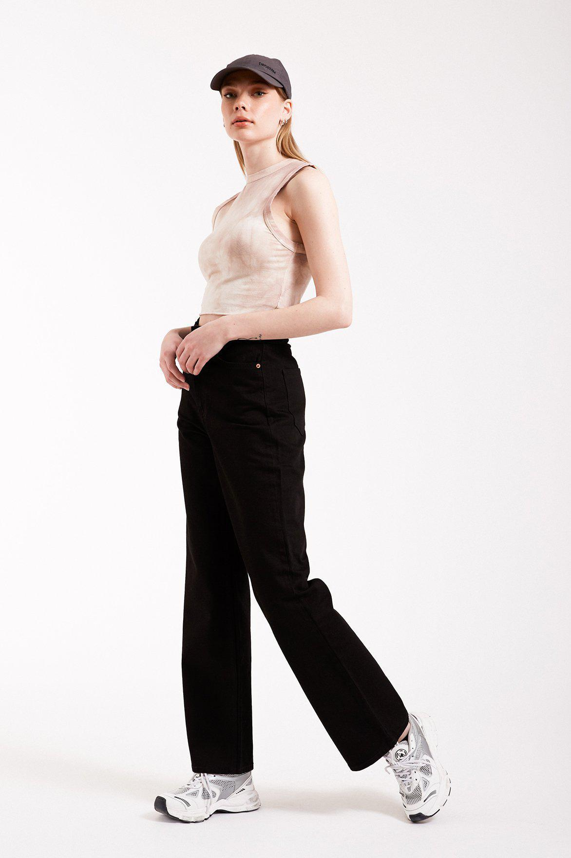 Dr Denim Echo jeans, Sort, 28-32