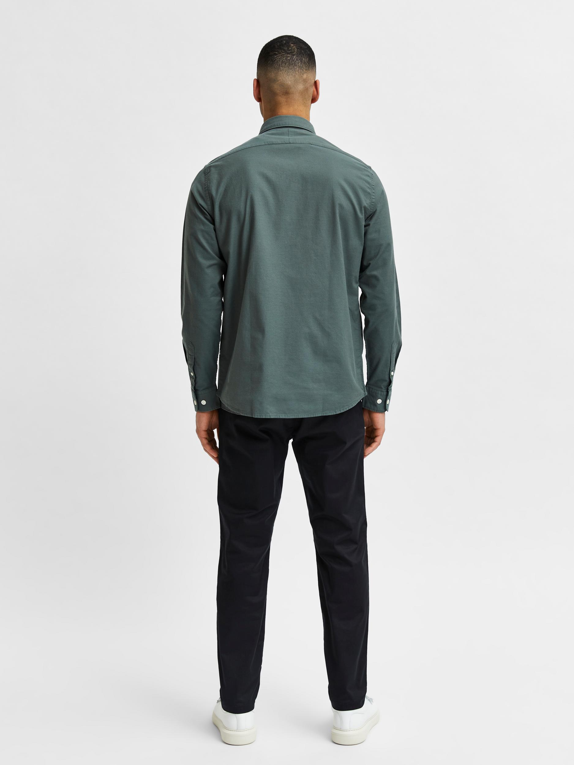 Selected Homme Regrick LS skjorte, forest night, xx-large