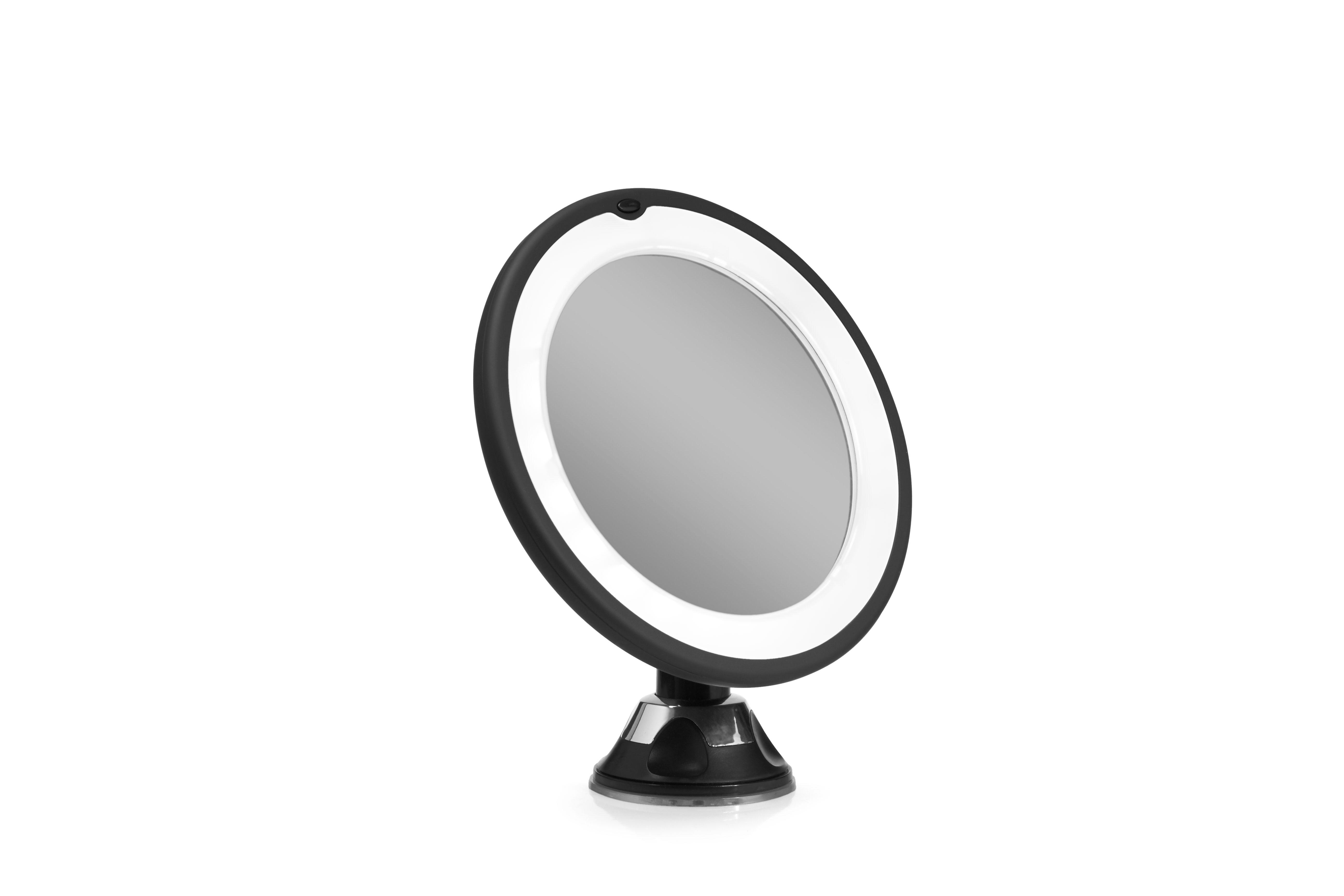 Gillian Jones spejl med lys, x10 forstørrelse