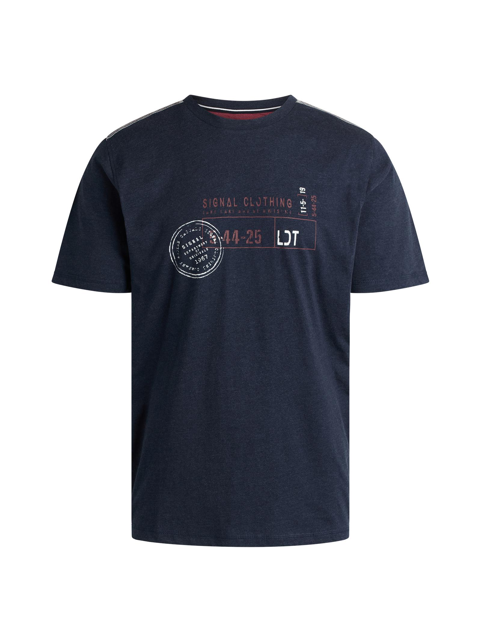 Signal Gavin T-shirt, Duke Blue Melange, L