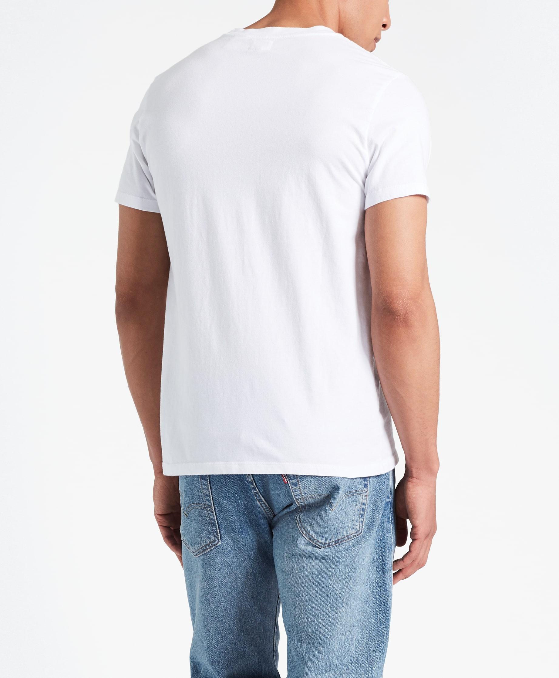 Levi's Original t-shirt, cotton & patch white, x-large