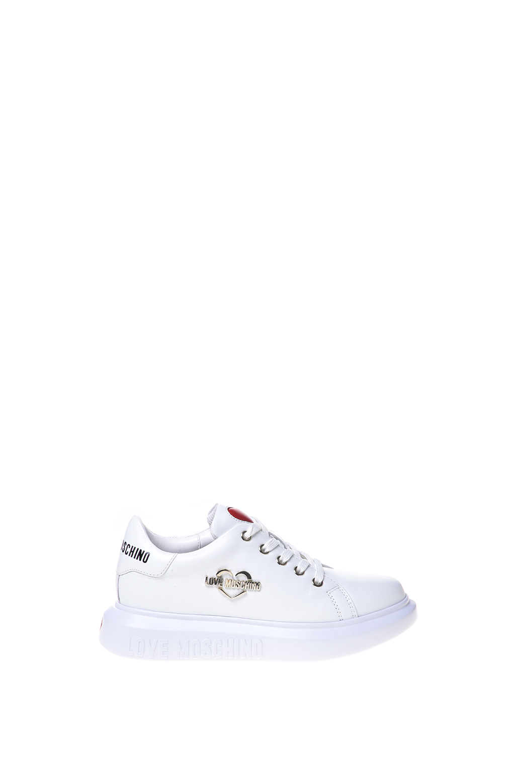 Love Moschino sneakers med logo, white, 41