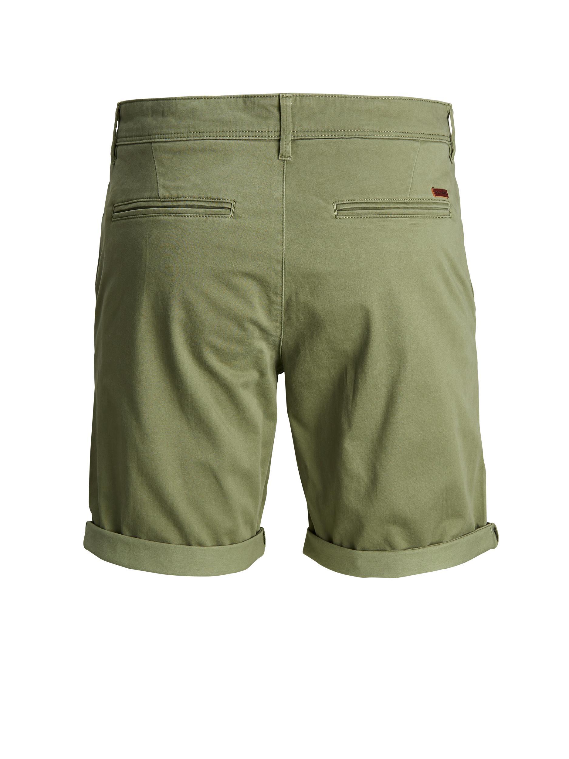 Jack & Jones Bowie shorts, deep lichen green, medium