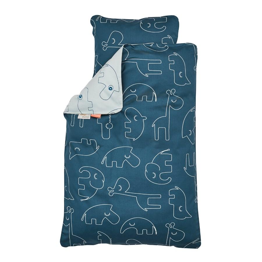 Done by Deer babysengetøj, Sleepy, blå