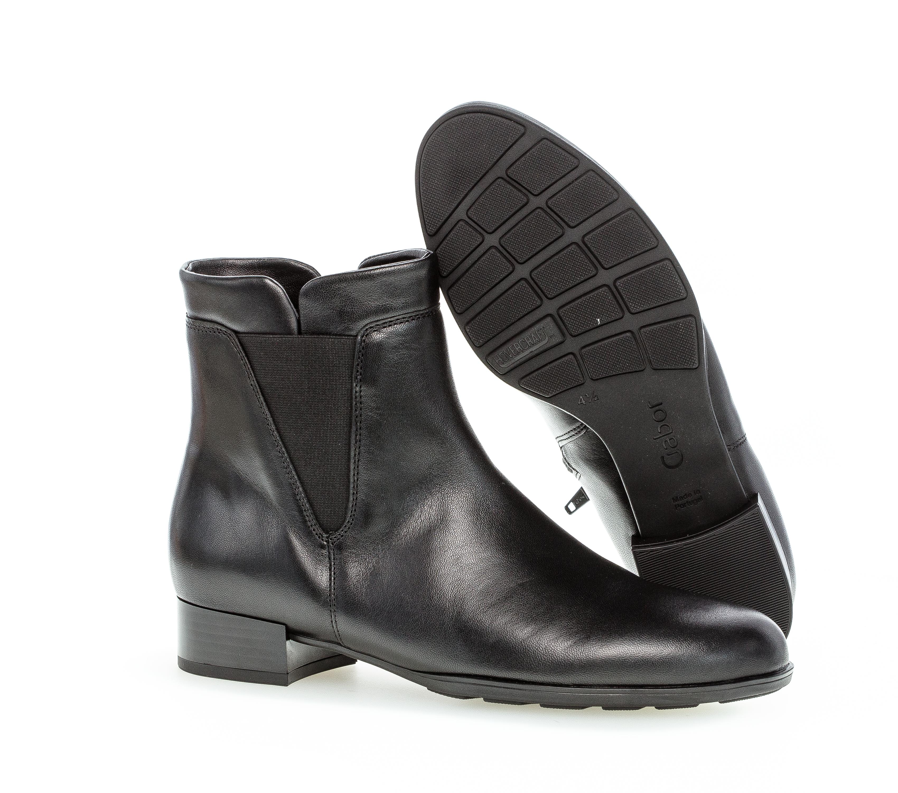 Gabor 55.500.27 boots, Sort, 37.5