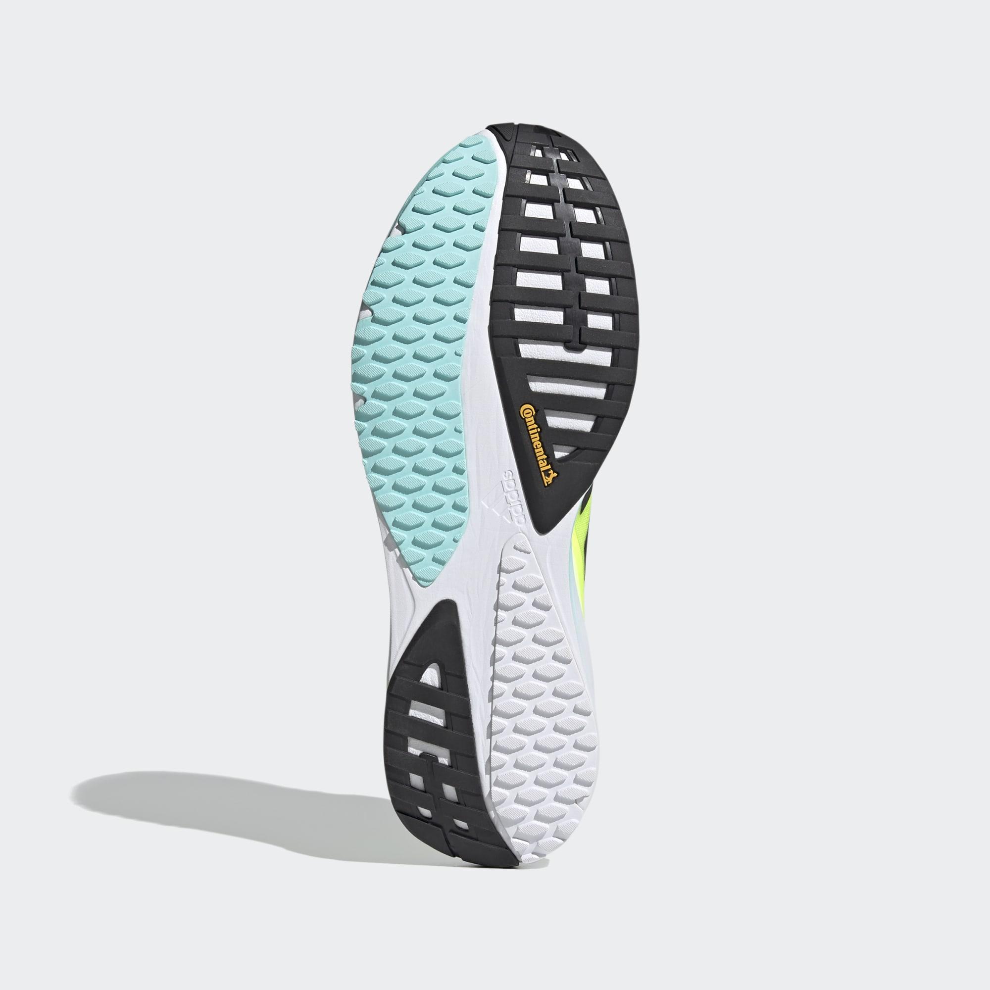 Adidas SL20 sko, yellow/black/aqua, 45 1/3