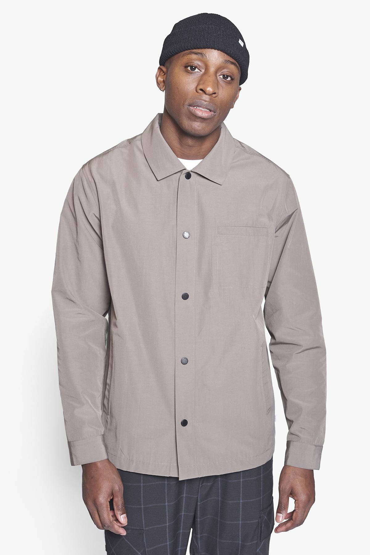 Woodbird Brenti Sport Skjorte, Antra Grey, XL