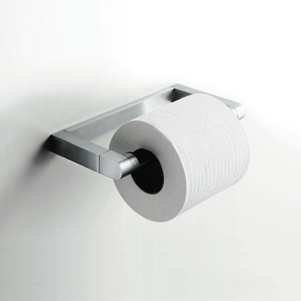 Vipp 3 toiletrulleholder, stål