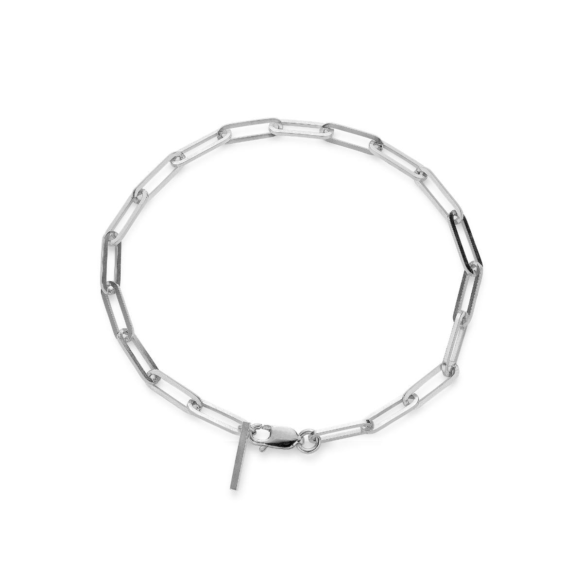 Jane Kønig Reflection Stretched armbånd, sølv