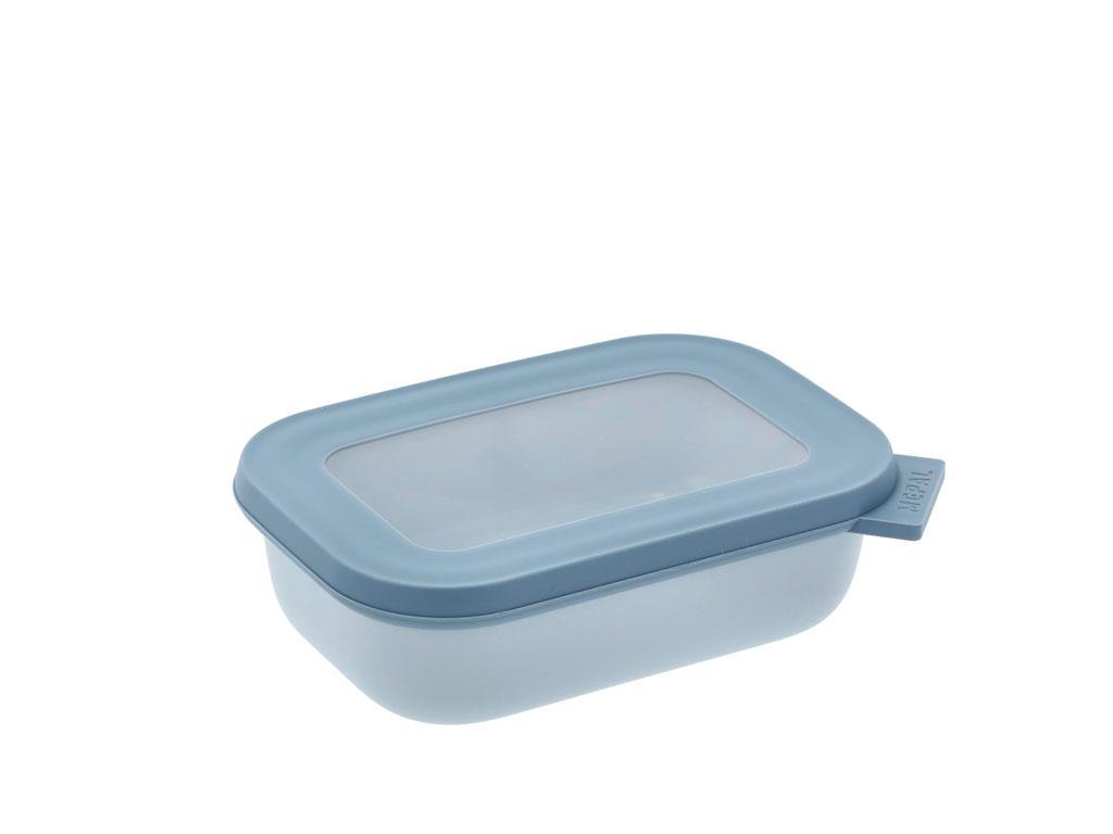 Mepal Cirqula rektangulær skål, 500 ml, nordic blue