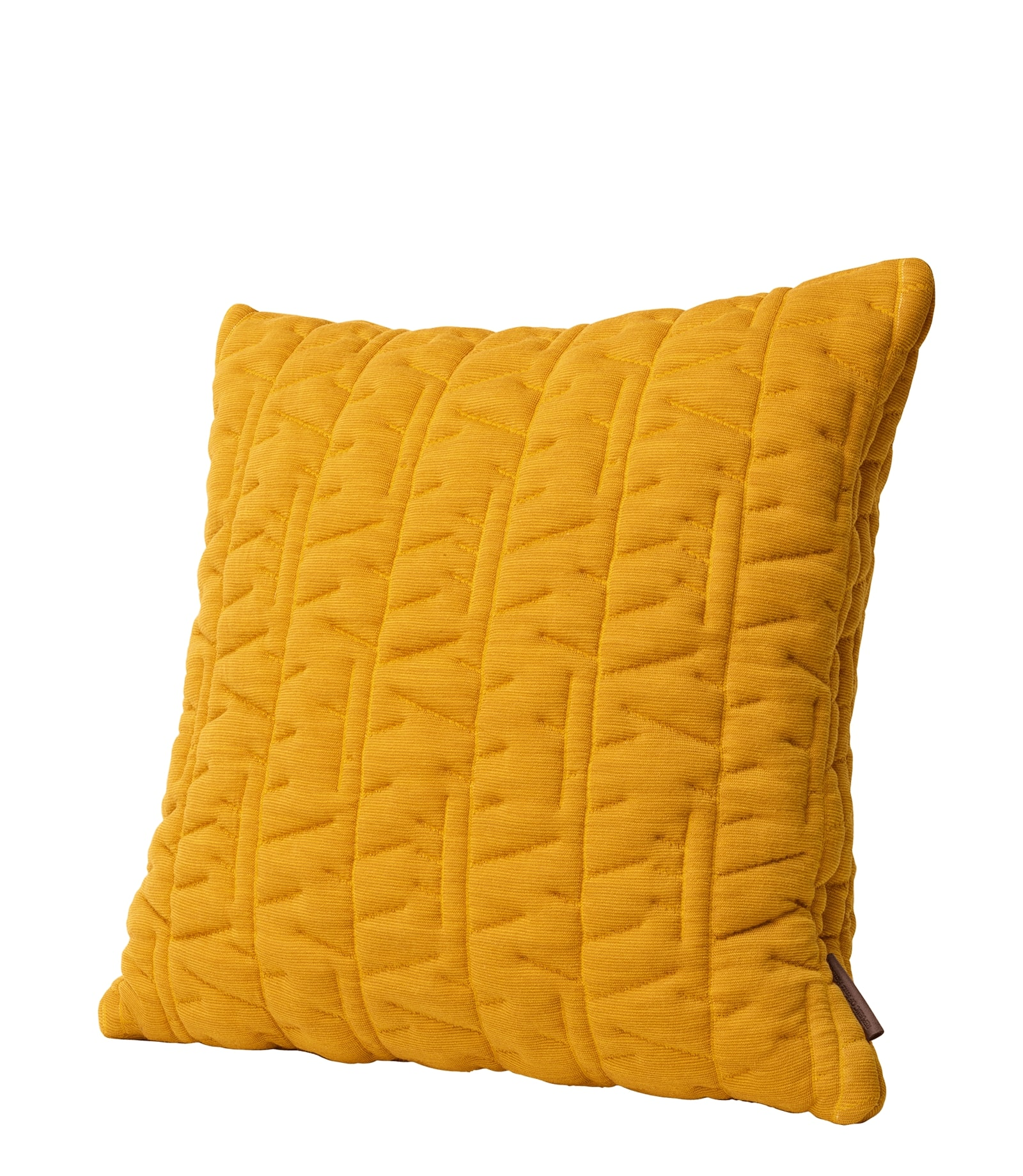 Fritz Hansen AJ Tassel pyntepude, 45x45 cm, ochre yellow