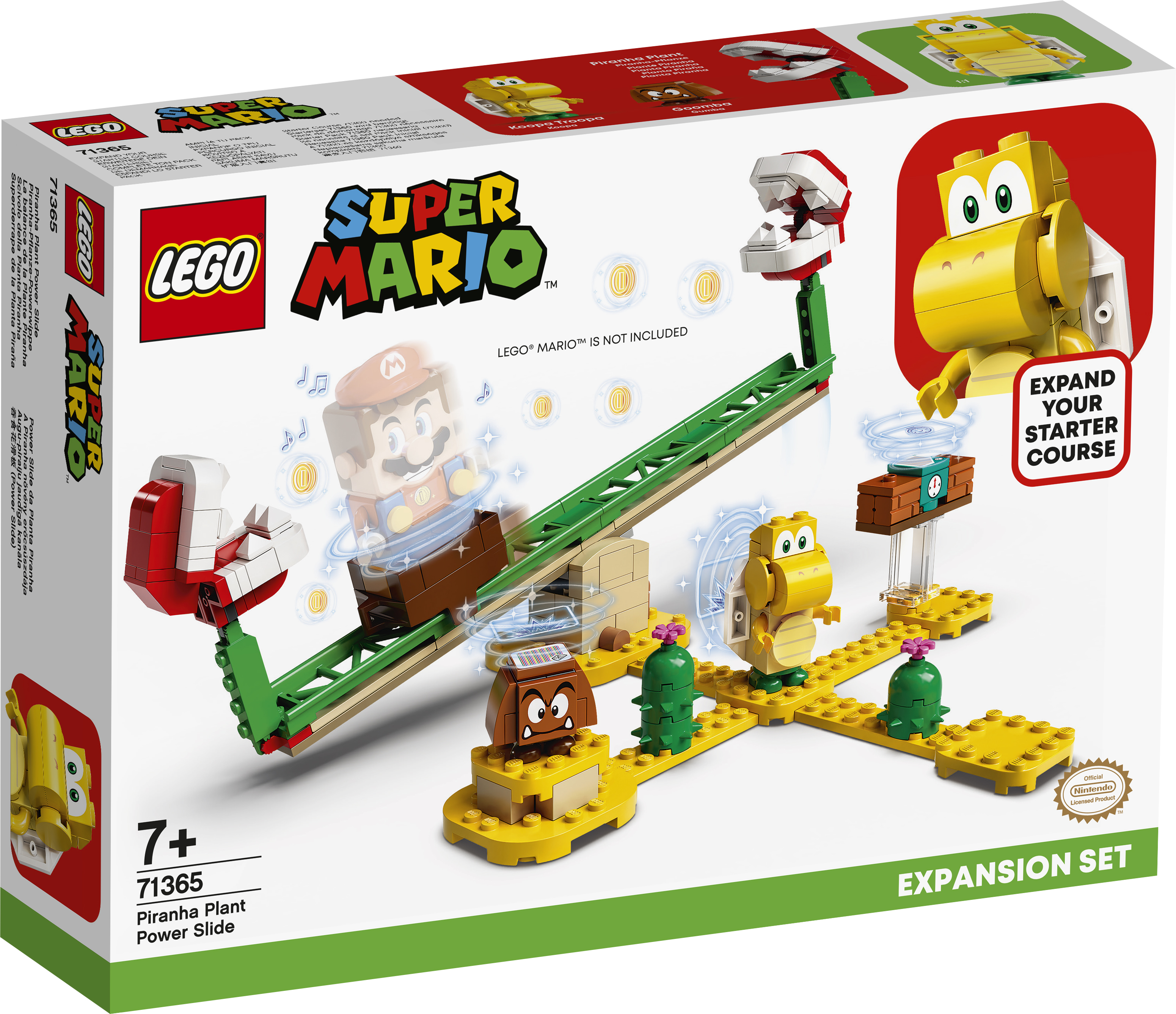 LEGO Super Mario Kødædende planterutsjebane - udvidelsessæt - 71365