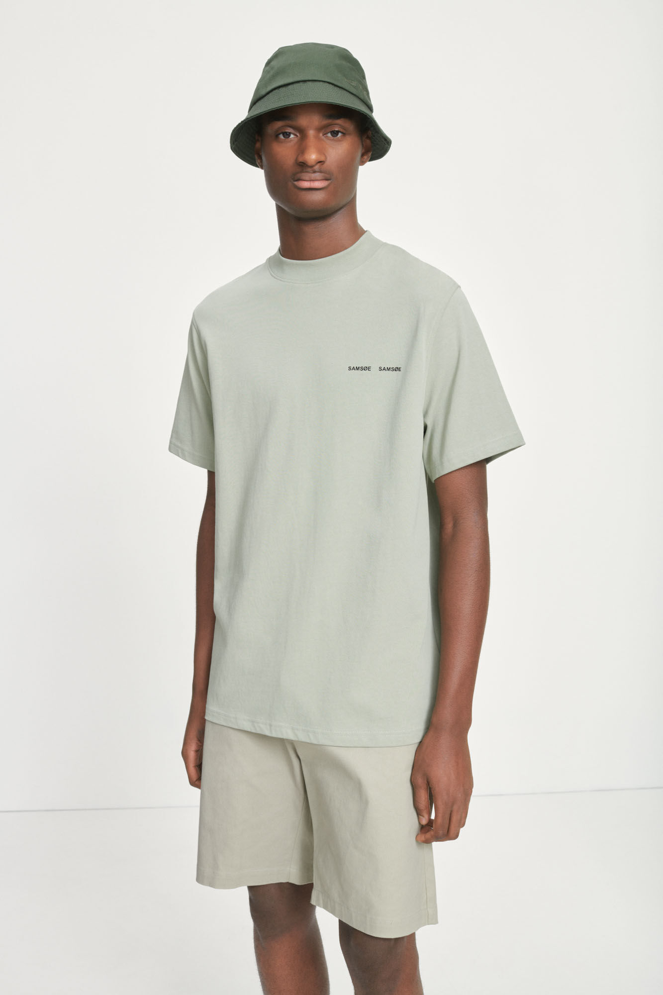 Samsøe & Samsøe Norsbro S/S t-shirt, seagrass, large