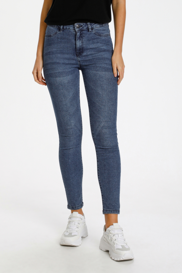 Saint Tropez TinnaSZ jeans, med.blue, large